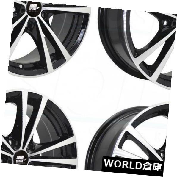 最適な価格 海外輸入ホイール 17x7 MST Sabre 5x110 Black Rims 45ブラックホイールリムセット(4) 17x7 MST Saber Set(4) 5x110 45 Black Wheels Rims Set(4), ハツカイチシ:1b644d83 --- lms.imergex.tech