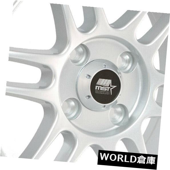 【SALE】 海外輸入ホイール 15x8 MST鈴鹿4x100 20シルバーホイールリムセット(4) 15x8 15x8 MST Wheels Suzuka 20 4x100 20 Silver Wheels Rims Set(4), オオバタケチョウ:ff9f02b4 --- lms.imergex.tech