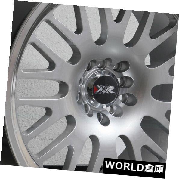 【在庫あり/即出荷可】 海外輸入ホイール 15x8 XXR 531 4x100 / 4x114.3 0 Hyper Silver MLホイールリムセット(4) 15x8 XXR 531 4x100/4x114.3 0 Hyper Silver ML Wheels Rims Set(4), ソシエ e-Shop a5705f32