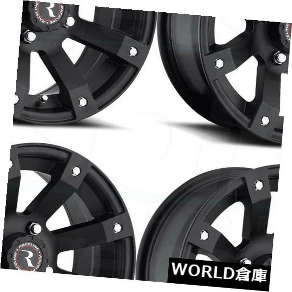 人気定番の 海外輸入ホイール 12x7 Raceline A79スコーピオン4x115 Raceline 10ブラックホイールリムセット(4) 12x7 Rims Raceline A79 A79 Scorpion 4x115 10 Black Wheels Rims Set(4), ゴルフシティアルド:95091d0b --- cranescompare.com