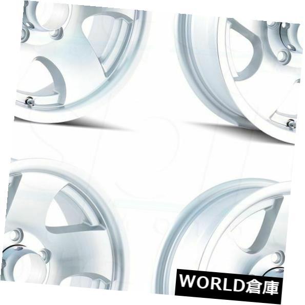 安価 海外輸入ホイール 14x6イオントレーラー10 Ion 5x114.3 0シルバーホイールリムセット(4) 14x6 Set(4) Ion Trailer 10 Rims 5x114.3 0 Silver Wheels Rims Set(4), オクシリグン:2232037d --- applyforvisa.online