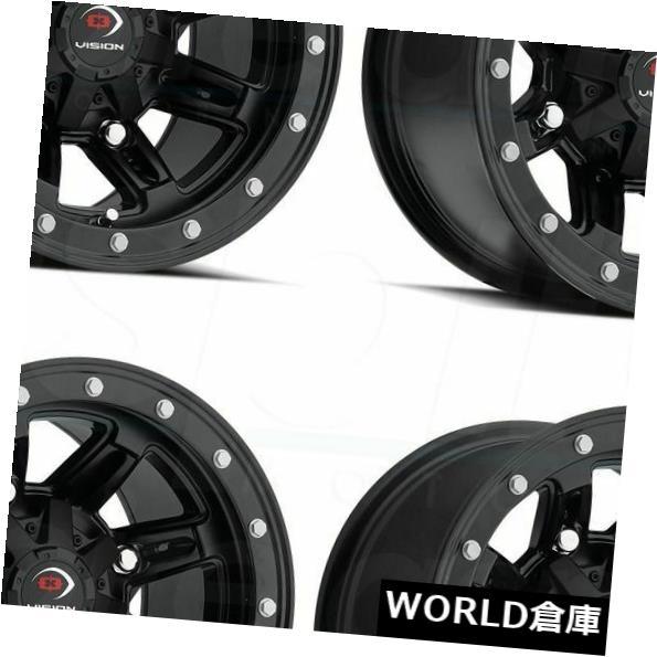 全国宅配無料 海外輸入ホイール 12x8 Vision ATV Fifty 550 Five Fifty Five 5x114.3 550 -10 Matte Black Wheels Rims Set(4) 12x8 Vision ATV 550 Five Fifty 5x114.3 -10 Matte Black Wheels Rims Set(4), ペットグッズショップ橋本:faab7ff4 --- ltcpackage.online