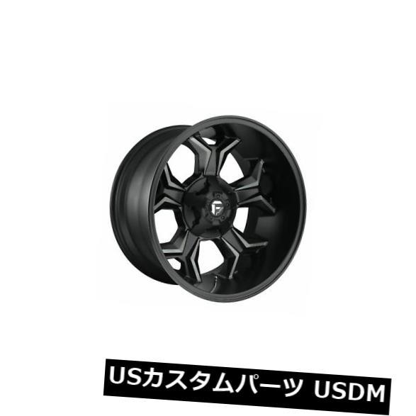 海外輸入ホイール 4個の20x10燃料D605アベンジャーET -18ブラック8x180ホイールリムのセット Set of 4 20x10 Fuel D605 Avenger ET -18 Black 8x180 Wheels Rims