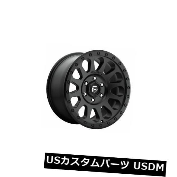 海外輸入ホイール 4個の20x10燃料D579ベクトルET -18ブラック8x165.1ホイールリムのセット Set of 4 20x10 Fuel D579 Vector ET -18 Black 8x165.1 Wheels Rims