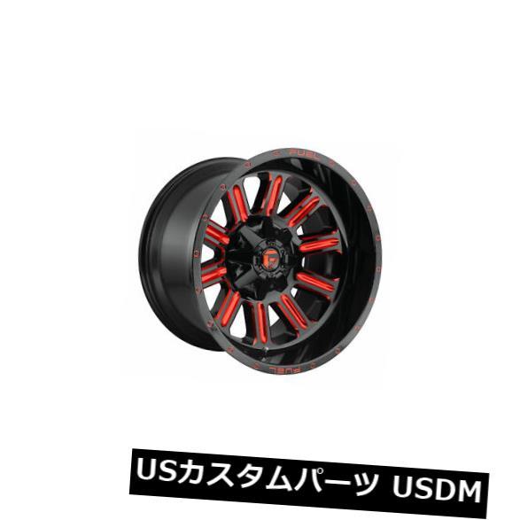 トップ 海外輸入ホイール 4本の20x12燃料D621ハードラインET -44ブラックレッド6x135ホイールリムのセット Set Red of -44 6x135 4 20x12 Fuel D621 Hardline ET -44 Black Red 6x135 Wheels Rims, オオイタシ:b79631a4 --- lucyfromthesky.com