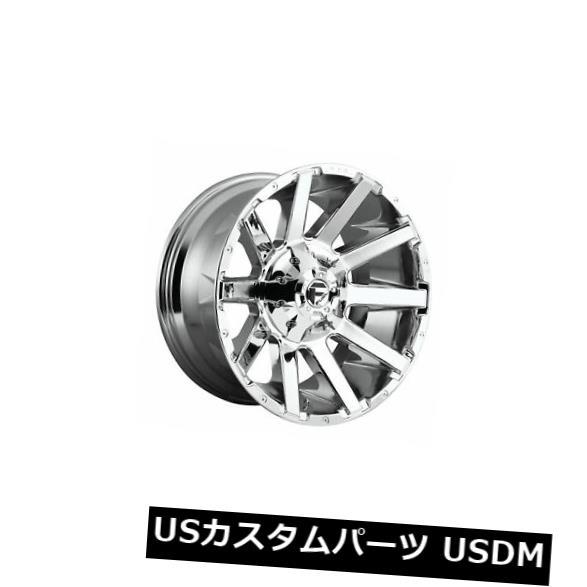 車用品 バイク用品 >> タイヤ ホイール 贈答 海外輸入ホイール 4 x 22x12 Fuel D614 -44 Rimsのセット Chrome 今季も再入荷 Rims 6x135 Contra Set ET Wheels of