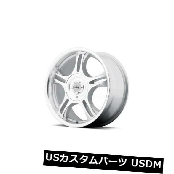 車用品 ディスカウント バイク用品 >> タイヤ ホイール 海外輸入ホイール 15x7 AMERICAN RACING ESTRELLA 5x108 4個セット of 4 買物 ET35機械加工リム付き 5x114.3 Machined Rims ET35 W Set