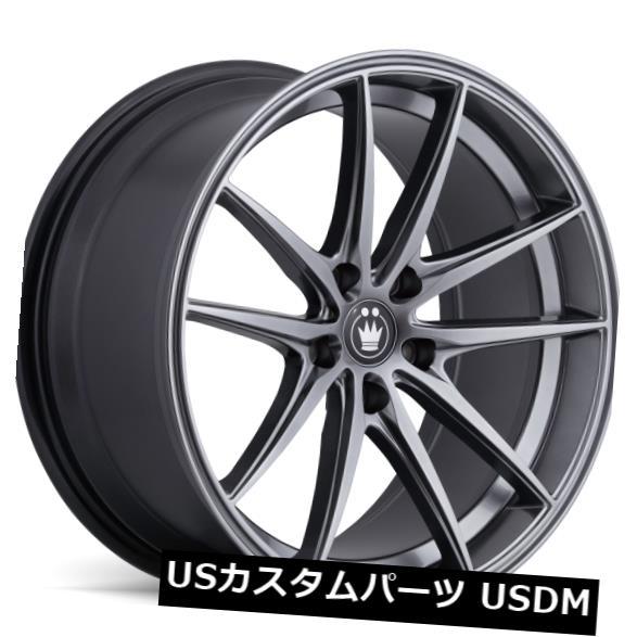 海外輸入ホイール 18x9 KONIG OVERSTEER 5x114.3 +22オパールホイール(4個セット) 18x9 KONIG OVERSTEER 5x114.3 +22 Opal Wheels (Set of 4)