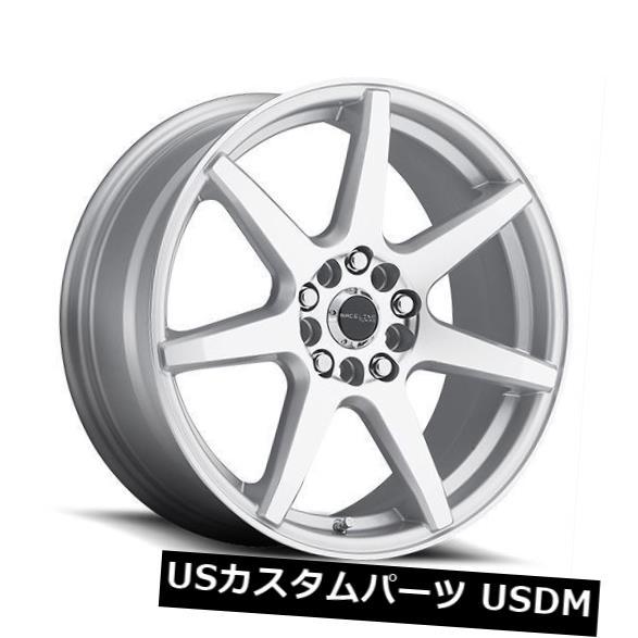 新しいコレクション 海外輸入ホイール 16x7 Raceline 5x114.3 131S-Evo 5x108/ 5x114.3 ET40シルバー加工ホイール(4個セット) (Set 4) 16x7 Raceline 131S-Evo 5x108/5x114.3 ET40 Silver Machined Wheels (Set of 4), アドバンスワークス SELECT:45d37246 --- booking.thewebsite.tech