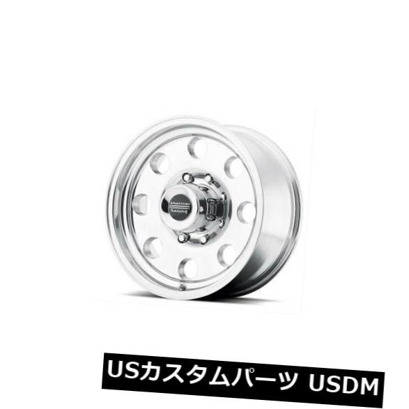 海外輸入ホイール 15x8 AMERICAN RACING BAJA 5x114.3 ET-19ポリッシュドホイール 4個セット 15x8 AMERICAN RACING BAJA 5x114.3 ET-19 Polished Wheels Set of