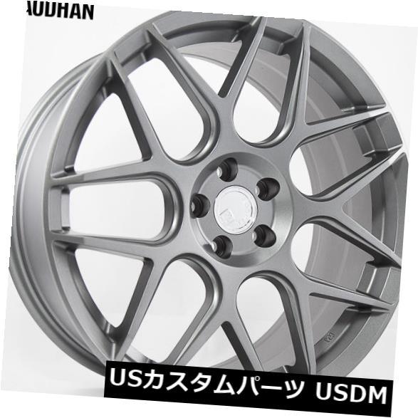 品質満点! 海外輸入ホイール 18x8 AodHan AodHan LS002リム5X120 +35ガンメタルホイール(4個セット) 18x8 4) AodHan of LS002 Rims 5X120 +35 Gun Metal Wheels (set of 4), プレミアムギア:747f3df1 --- aptapi.tarjetaferia.com.mx