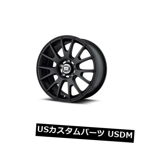 2021セール 海外輸入ホイール Black 18x8 MOTEGI MR118 5x112 ET45マットブラックホイール(4個セット) 18x8 4) (Set MOTEGI MR118 5x112 ET45 Matte Black Wheels (Set of 4), ヤマクニマチ:3def2fb4 --- irecyclecampaign.org