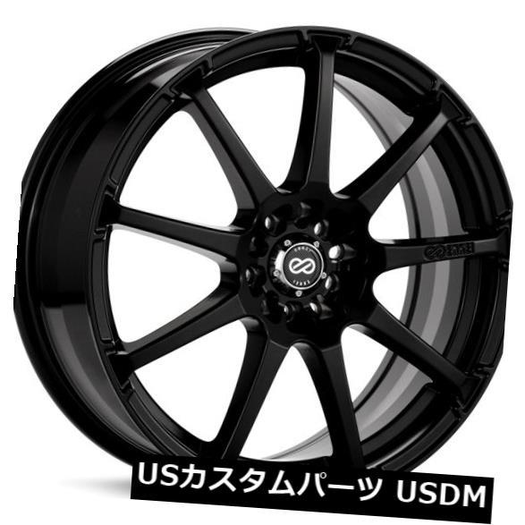 高い素材 海外輸入ホイール 16x7 Enkei Wheels EDR9 5x100 EDR9/ 114.3 +38ブラックホイール(4個セット) Black 16x7 Enkei EDR9 5x100/114.3 +38 Black Wheels (Set of 4), ATYES Shop:bdb78d46 --- unifiedlegend.com