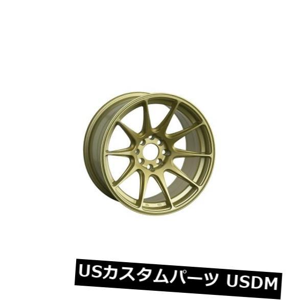 海外輸入ホイール 18x9.75 XXR 527 5x100 / 114.3 +35ゴールドホイール(4個セット) 18x9.75 XXR 527 5x100/114.3 +35 Gold Wheels (Set of 4)