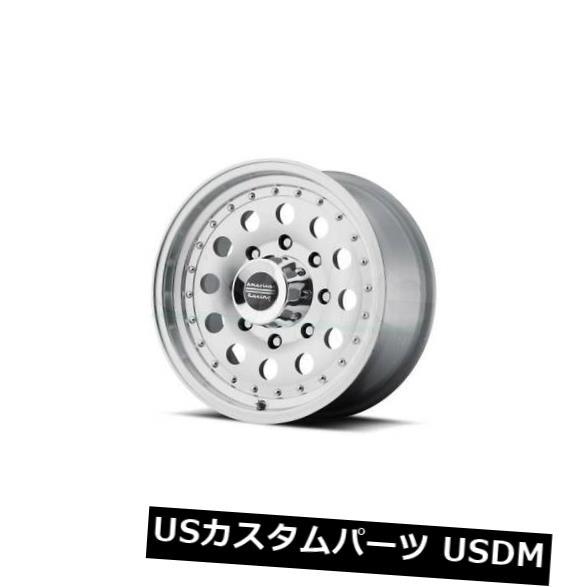海外輸入ホイール 16x8 AMERICAN RACING OUTLAW II 5x114.3 ET0 Machined W / Wheels(4個セット) 16x8 AMERICAN RACING OUTLAW II 5x114.3 ET0 Machined W/ Wheels (Set of 4)