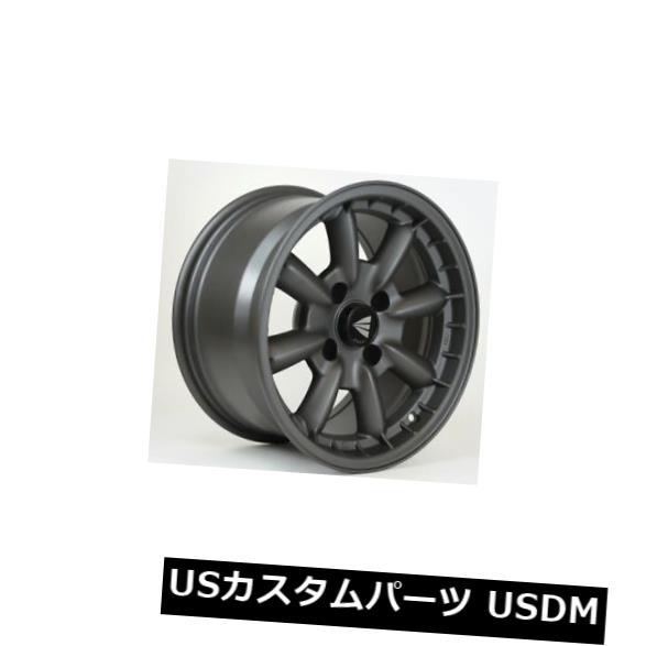 海外輸入ホイール 15x8 Enkei COMPE 4x100 25 Gunmetal Wheels 4個セット 15x8 Enkei COMPE 4x100 25 Gunmetal Wheels Set of 4