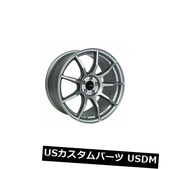 海外輸入ホイール 18x8 Enkei TS9 5x108 +45 Platinum Grey Wheels(4個セット) 18x8 Enkei TS9 5x108 +45 Platinum Grey Wheels (Set of 4)