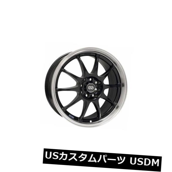 激安/新作 海外輸入ホイール 15x6.5 Enkei J10 (Set J10 4X100/ 108 +38ブラックホイール(4個セット) of 15x6.5 Enkei J10 4X100/108 +38 Black Wheels (Set of 4), イチオシBABY&KIDSハローガーデン:7a0c57ca --- vlogica.com
