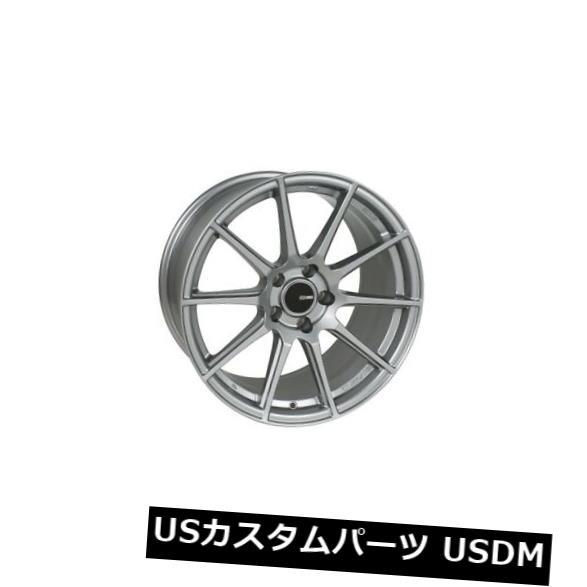 素晴らしい外見 海外輸入ホイール 18x8.5 Enkei TS10 Storm 5x114.3 +50 Storm 4) Grey Wheels(4個セット) (Set 18x8.5 Enkei TS10 5x114.3 +50 Storm Grey Wheels (Set of 4), 大衡村:7d07d61e --- ironaddicts.in