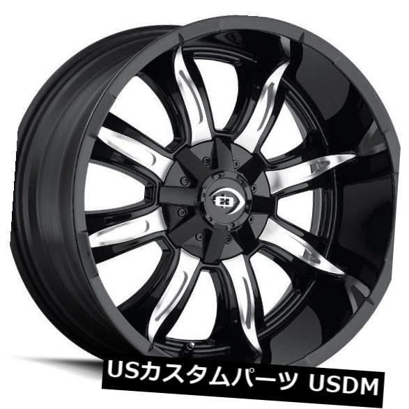 激安商品 海外輸入ホイール of 4) 20X10 Vision 423 Manic 8x180 ET-25グロスブラックマシンドフェイスホイール(4個セット) 20X10 Vision Black 423 Manic 8x180 ET-25 Gloss Black Machined Face Wheels (Set of 4), 若葉区:e17af5c2 --- ecommercesite.xyz