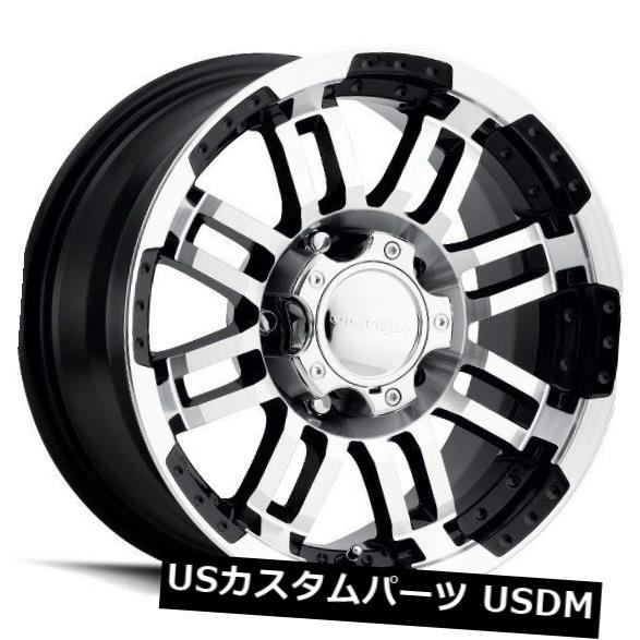 【超お買い得!】 海外輸入ホイール of 20X9 (Set Vision 375 Warrior 8x165.1 8x165.1 ET0ブラックマシニングホイール(4個セット) 20X9 Vision 375 Warrior 8x165.1 ET0 Black Machined Wheels (Set of 4), Carnet de Paris カルネドパリ:28689e25 --- ecommercesite.xyz