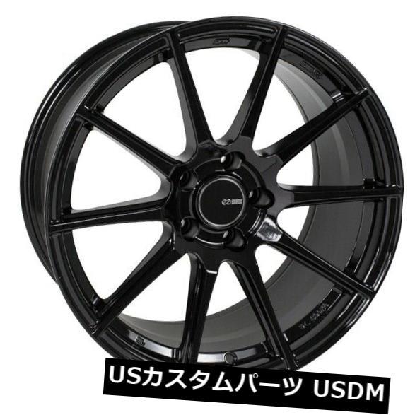 【日本製】 海外輸入ホイール 18x8 Enkei TS10 Enkei 5x112 +45グロスブラックホイール(4個セット) Wheels 18x8 Enkei TS10 TS10 5x112 +45 Gloss Black Wheels (Set of 4), petit et petite:c7dea418 --- odishapolitics.in