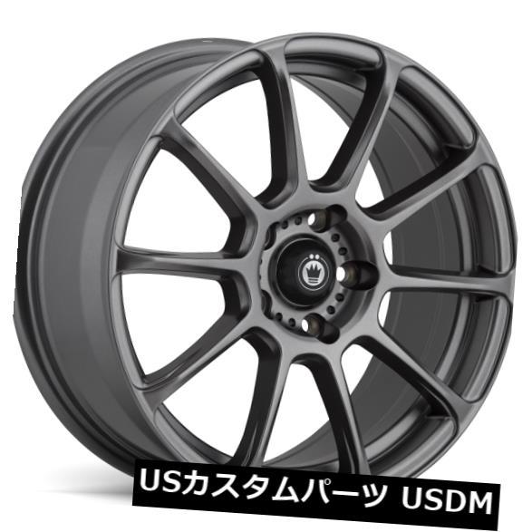 【時間指定不可】 海外輸入ホイール 18x8 KONIG RUNLITE Grey 5x114.3 18x8 4) +45マットグレーホイール(4個セット) 18x8 KONIG RUNLITE 5x114.3 +45 Matte Grey Wheels (Set of 4), エナジードラッグ:6f0d305e --- tedlance.com