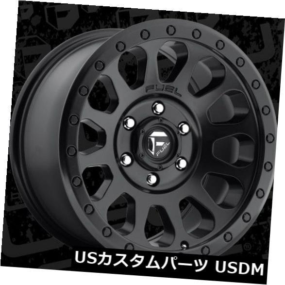 海外輸入ホイール Fuel Vector 18x9 6x135 ET20マットブラックホイール(4個セット) Fuel Vector 18x9 6x135 ET20 Matte Black Wheels (Set of 4)
