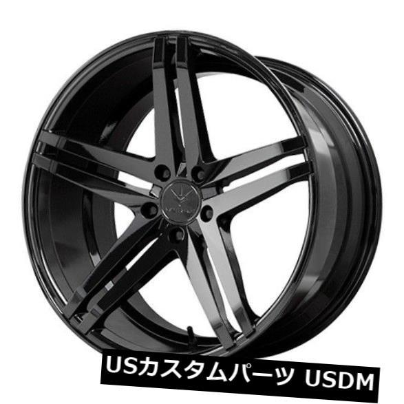 新しいスタイル 海外輸入ホイール 20x10/ 11 Verde Parallax 5x114.3 (set +45/52グロスブラックホイール(4個セット)/ 11 20x10/11 Verde Parallax 5x114.3 +45/52 Gloss Black wheels (set of 4), ディオス:ad262e26 --- booking.thewebsite.tech