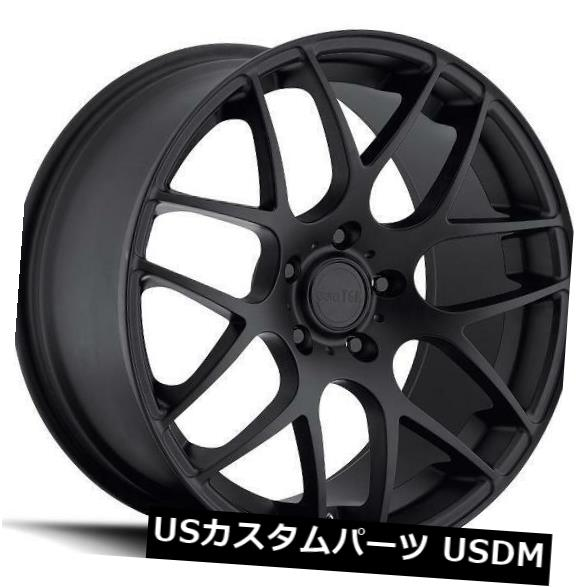 【テレビで話題】 海外輸入ホイール 19x8.5 MRR UO2 5x108 +35マットブラックホイール(4個セット) 19x8.5 MRR UO2 5x108 +35 Matte Black Wheels (Set of 4), 腕時計専門店 Brandol 09fad560