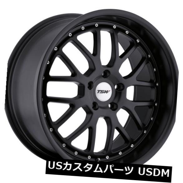 非常に高い品質 海外輸入ホイール TSW 17x8 Wheels TSWバレンシア5x114.3リム+40マットブラックホイール(4個セット) (Set 17x8 TSW Valencia 5x114.3 Rims +40 Matte Black Wheels (Set of 4), 西方町:7d9bd46f --- avpwingsandwheels.com
