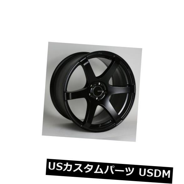 欲しいの 海外輸入ホイール 18x8.5 / 9.5 Enkei T6S 5x114.3 +35/30ブラックホイール(4個セット) 18x8.5/9.5 Enkei T6S 5x114.3 +35/30 Black Wheels (Set of 4), 姫路流通センター 5a9d491a