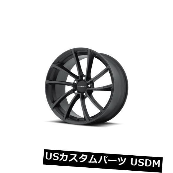 海外輸入ホイール 20x8.5 KMC SPIN 5x114.3 ET35サテンブラックホイール(4個セット) 20x8.5 KMC SPIN 5x114.3 ET35 Satin Black Wheels (Set of 4)