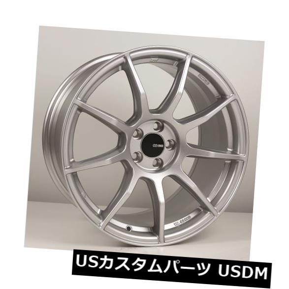 海外輸入ホイール 18x8.5 9.5 Enkei TS9 5x114.3 35 30シルバーホイール 4個セット 18x8.5 9.5 Enkei TS9 5x114.3 35 30 Silver Wheels Set of 4