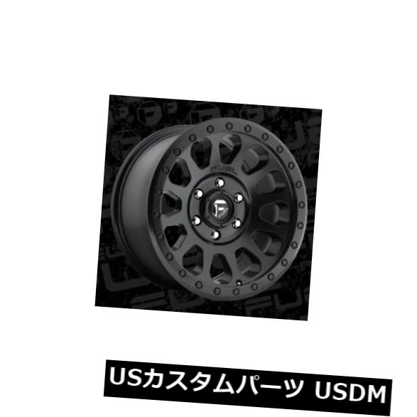 One Fuel Vector 16x8 6x5.5 ET20 Matte Black Wheel