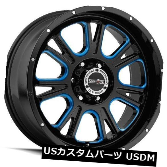 世界的に 海外輸入ホイール 20X9 Vision 399 Fury 6x139.7 399 ET10ブラックマシニングホイール(4個セット) 4) 20X9 Fury Vision 399 Fury 6x139.7 ET10 Black Machined Wheels (Set of 4), インテリア高錦:94ac027e --- arg-serv.ru