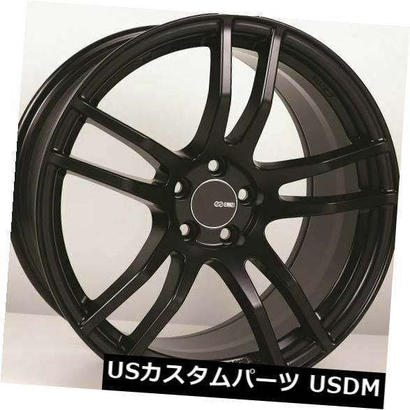 最も優遇 海外輸入ホイール 18x8.5/ 9.5 Black Enkei TX5 18x8.5/9.5 5x100 +45ブラックホイール(4個セット) 18x8.5 (Set/9.5 Enkei TX5 5x100 +45 Black Wheels (Set of 4), フリースタイルジャパン:a016c67a --- sitemaps.auto-ak-47.pl