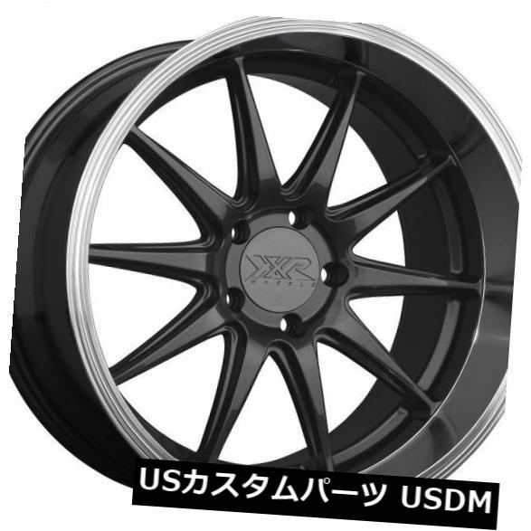 海外輸入ホイール XXR 527D 20x9 5x114.3 +35グラファイト/ MLホイール(4個セット) XXR 527D 20x9 5x114.3 +35 Graphite / ML Wheels (Set of 4)