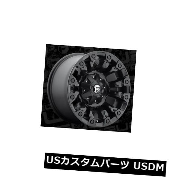 【超目玉】 海外輸入ホイール Fuel Vapor D560 17x9 8x6.5 ET-12マットブラックホイールリム(4個セット) Fuel Vapor D560 17x9 8x6.5 ET-12 Matte Black Wheels Rims (Set of 4), 永大産業webshop b357b28e