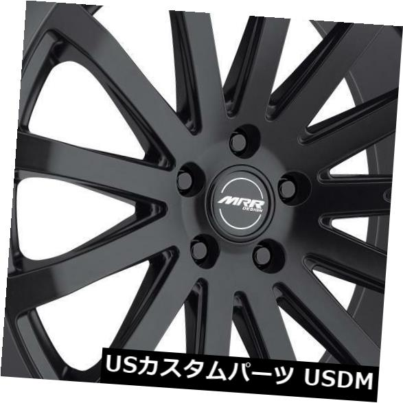 超話題新作 海外輸入ホイール MRR HR9 HR9 18x8.5 of/ 18x9.5 4) 5x120.7ブラックホイールリム(4個セット) MRR HR9 18x8.5/18x9.5 5x120.7 Black Wheels Rims (Set of 4), おくすりやさん:d0d62f4f --- anekdot.xyz