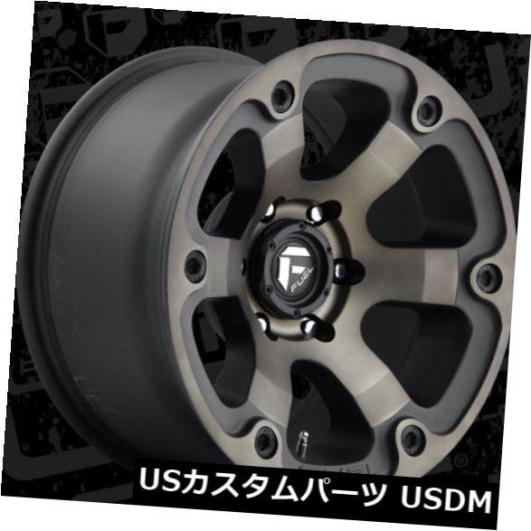 50%OFF 海外輸入ホイール Fuel Beast D564 17x9 Tint 6x5.5 ET-12 Wheels Black 4) Machined Tint Wheels Rims(4個セット) Fuel Beast D564 17x9 6x5.5 ET-12 Black Machined Tint Wheels Rims (Set of 4), 美容と健康の専門店 美健ショップ:4924bb97 --- pwucovidtrace.com