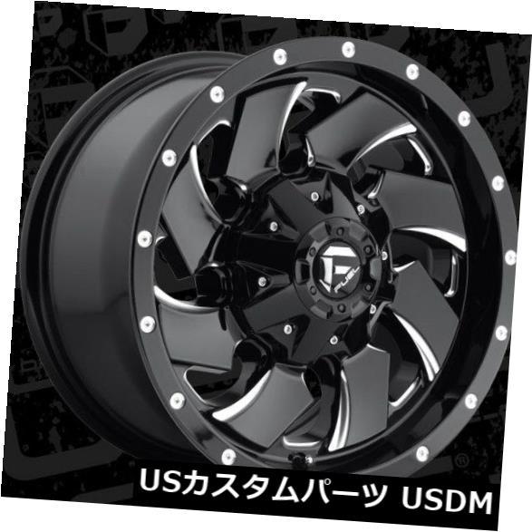 人気商品は 海外輸入ホイール Wheels Fuel Cleaver 17x9 8x6.5 ET1ブラックミルドホイール(4個セット) Fuel Cleaver 17x9 17x9 of 8x6.5 ET1 Black Milled Wheels (Set of 4), ポッチワン:a58a3fda --- anekdot.xyz