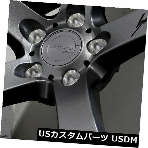 海外輸入ホイール 18x8.5ガンメタルホイールMRR VP5 5x114.3 20(4個セット) 18x8.5 Gun Metal Wheels MRR VP5 5x114.3 20 (Set of 4)