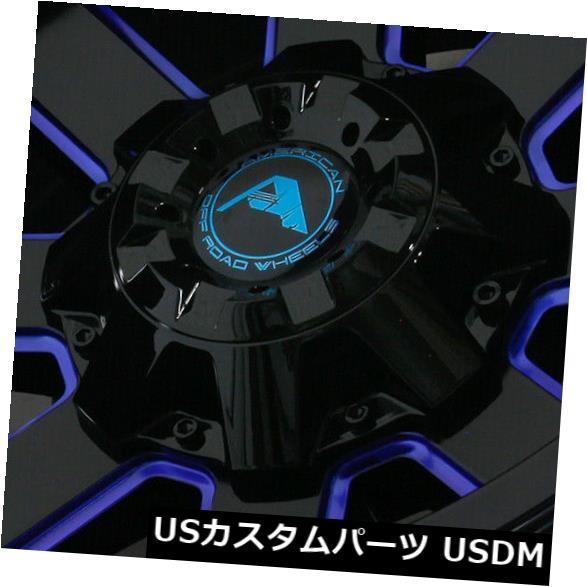 【予約中!】 海外輸入ホイール 20x12ブラックミルドブルーホイールアメリカンオフロードA108 5x114.3 -44(4個セット) Blue 20x12 Black Milled Blue Milled Wheels of American Off-Road A108 5x114.3 -44 (Set of 4), mineoストア:df003f78 --- annhanco.com