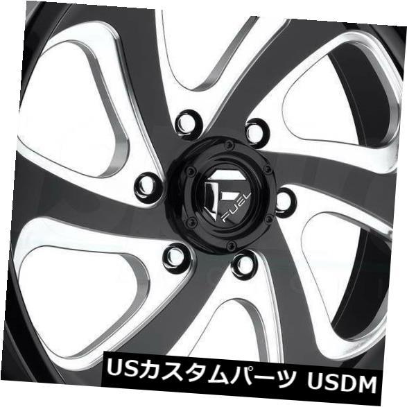 車用品 バイク用品 >> タイヤ 格安SALEスタート ホイール 海外輸入ホイール 20x9ブラックミルドホイールフューエルフローD587 8x170 新生活 1 4個セット Flow 4 Black 20x9 Fuel of Milled Set D587 Wheels
