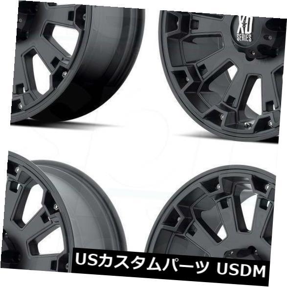 熱い販売 海外輸入ホイール 0 18x9マットブラックホイールXD 18x9 XD800ミスフィット8x180 0(4個セット) 18x9 Black Matte Black Wheels XD XD800 Misfit 8x180 0 (Set of 4), 香老舗 高野山大師堂:1d36596a --- anekdot.xyz