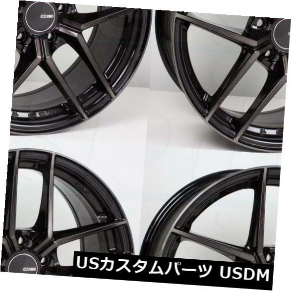 人気が高い  海外輸入ホイール 4) 18x8パールブラックホイールエンケイTY5 5x112 45(4個セット) (Set of 18x8 Pearl Black Wheels Enkei TY5 5x112 45 (Set of 4), MCタイヤストア Vai Com Deus:c0cbb4a9 --- ecommercesite.xyz