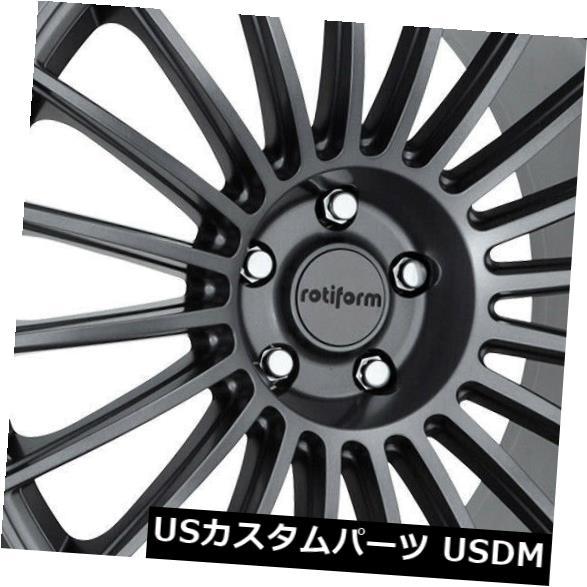 夏セール開催中 MAX80%OFF! 海外輸入ホイール 20x8.5 GunMetal Wheels Rotiform 35 BUC 4) R154 5x114.3 (Set 35(4個セット) 20x8.5 GunMetal Wheels Rotiform BUC R154 5x114.3 35 (Set of 4), ルナサンドウェブショップ:d7e66c2f --- ironaddicts.in