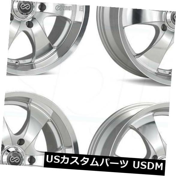 海外輸入ホイール 20x9シルバー加工ホイールEnkei M6 5x5 / 5x127 20(4個セット) 20x9 Silver Machined Wheels Enkei M6 5x5/5x127 20 (Set of 4)