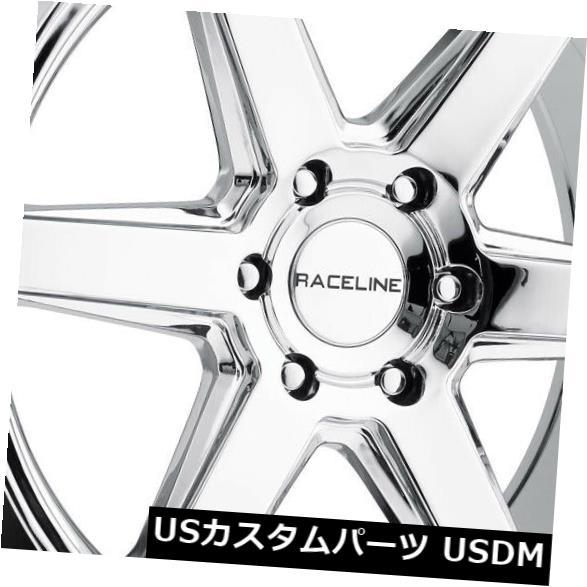 【現品限り一斉値下げ!】 海外輸入ホイール 6x132 18x8クロームホイールRaceline 156Cサージ6x132 35(4個セット) 18x8 18x8 Chrome Wheels of Raceline 156C Surge 6x132 35 (Set of 4), Nakama28:1a5d4d01 --- lms.imergex.tech